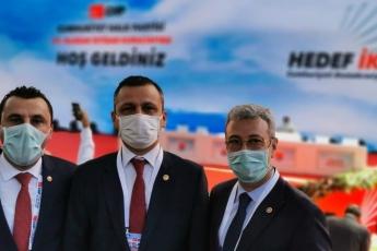 """2020-07-28- 37. Olağan Kurultayımızın parolası belli: """"Hedef İktidar""""  Cumhuriyet Halk Partisi iktidarı ile de tüm Türkiye'ye bahar gelecek - 5"""