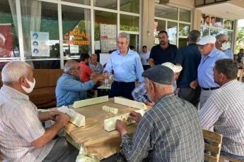 Mut Yapıntı Köyünde kahvelerdeki vatandaşlarımızla bayramlaştık.