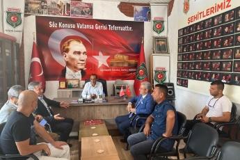Türkiye Harp Malulü Gaziler Şehit Dul ve Yetimleri Derneği Niğde Şubesini ziyaret ettik.