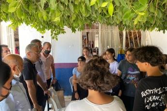 Akdeniz iİçe Başkanımız Sayın Semih Palamut ile Karaduvar Mahallemizdeyiz