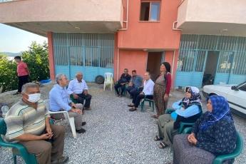 Anamur İlçe Örgütümüz ve İlçe Başkanımız Durmuş Deniz ile birlikte Anamur'un yaylalarında vatandaşlarımızla bayramlaştık dertlerini dinledik