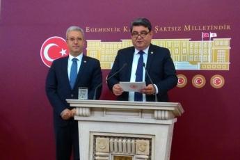 Ankara TBMM Basın Toplantı Salonunda Mersin Milletvekilimiz Cengiz GÖKÇEL'in Basın Toplantısına Katılımımız.