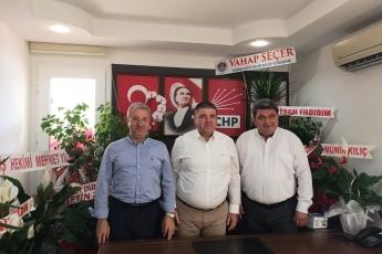 CHP Mezitli İlçe Başkanlığımıza ve Örgütümüze Milletvekilimiz Cengiz GÖKÇEL İle Birlikte Hayırlı Olsun Ziyaretimiz.-02