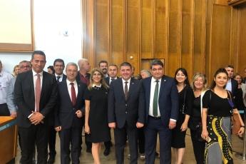 CHP Mersin Mezitli İlçe Başkanlığı ve Örgüt Temsilcilerinin TBMM'de CHP Grup Toplantısına Katılımı.-03