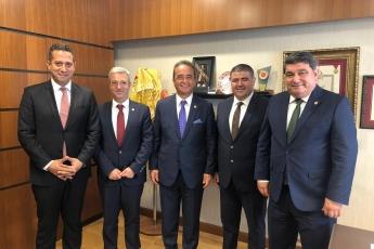 CHP Mersin Mezitli İlçe Başkanlığı ve Örgüt Temsilcilerinin TBMM'de CHP Grup Başkan Yardımcılarını Ziyareti.-01