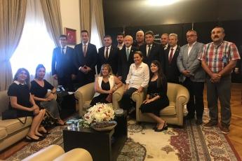 CHP Mersin Mezitli İlçe Başkanlığı ve Örgüt Temsilcilerinin TBMM'de CHP Genel Başkanı Kemal KILIÇDAROĞLU'nu Ziyareti.-02