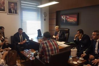 CHP Mersin Mezitli İlçe Başkanlığı ve Örgüt Temsilcilerinin TBMM'de Bizi Ziyareti.-02