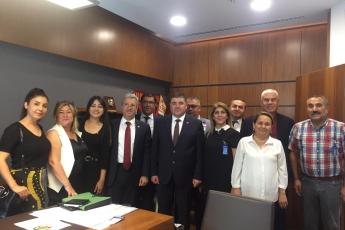 CHP Mersin Mezitli İlçe Başkanlığı ve Örgüt Temsilcilerinin TBMM'de Bizi Ziyareti.-03