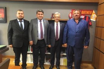 Mersin Çamlıbel Sulama ve Tarımsal Kalkınma Kooperatif Başkanı  Mehmetli Ali Özcan ve Yönetim Kurulu Üyesi Cemal Kocalı'nın TBMM'de Bizi Ziyareti.