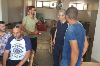 Mersin Karaduvar Mahallesinde Kahve ve Esnaf Ziyareti.-01
