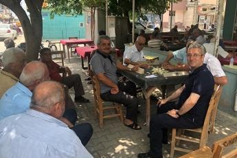 Mersin Karaduvar Mahallesinde Kahve ve Esnaf Ziyareti.-03