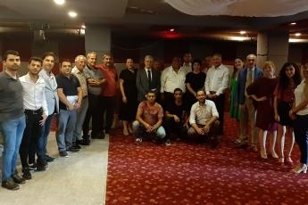Mersin Atlıhan Hotel'de Roman Medya Ağı Sempozyumuna (Güçlü Roman Sesi) Katılımımız.-05