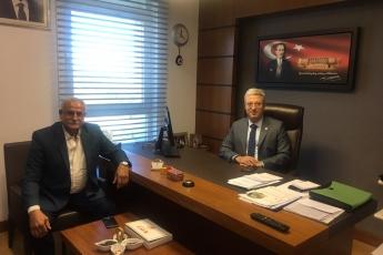 CHP Mersin Akdeniz İlçesi Belediye Başkan Adayı Sayın Sabit YELKOVAN'ın TBMM'de Bizi Ziyareti.
