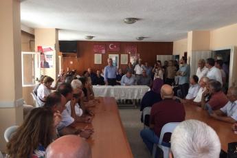 CHP Tarsus İlçe Başkanlığı ve Örgütümüzü Ziyaretimiz.-01