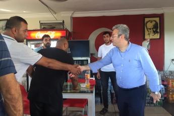 Tarsus C.P. Yem Fabrikası İşçileri ve Kamyon Şoförleri İle Buluşmamız.