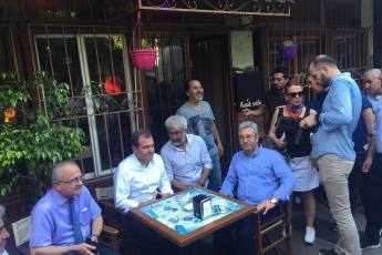 Mersin Büyükşehir Belediye Başkanı Sayın Vahap Seçer ile Mersin Çarşı Esnafını Ziyaretimiz.-06