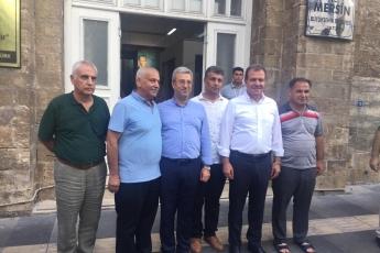 Mersin Büyükşehir Belediye Başkanı Sayın Vahap Seçer ile Mersin Çarşı Esnafını Ziyaretimiz.-11