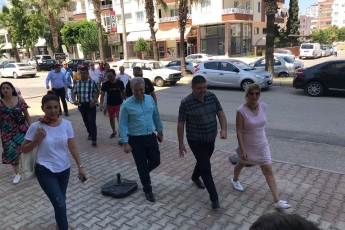 CHP Mezitli İlçe Başkanı Ahmet Serkan Tuncer İle Mezitli Esnafımızı Ziyaretimiz.-01