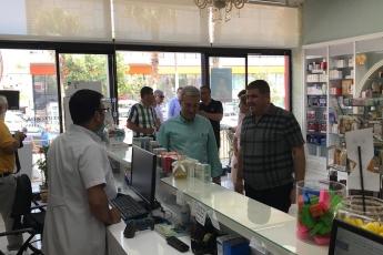 CHP Mezitli İlçe Başkanı Ahmet Serkan Tuncer İle Mezitli Esnafımızı Ziyaretimiz.-02