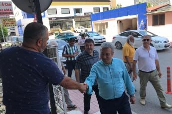 CHP Mezitli İlçe Başkanı Ahmet Serkan Tuncer İle Mezitli Esnafımızı Ziyaretimiz.-03