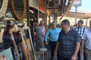 CHP Mezitli İlçe Başkanı Ahmet Serkan Tuncer İle Mezitli Esnafımızı Ziyaretimiz.-06