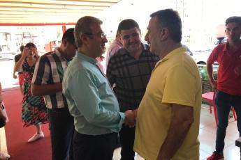 CHP Mezitli İlçe Başkanı Ahmet Serkan Tuncer İle Mezitli Esnafımızı Ziyaretimiz.-10