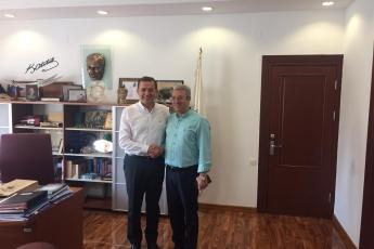 Yenişehir İlçe Belediye Başkanı Abdullah Özyiğit'i Ziyaretimiz.