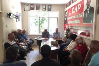 CHP Gülnar İlçe Örgütümüzü Ziyaretimiz.-01