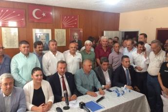 CHP Mersin İl Bşk.lığı,İlçe Bşk.ları ve Milletvekilleri İle Birlikte Tarsus İlçe Başkanlığında Basın Açıklamasına Katılımımız.-01