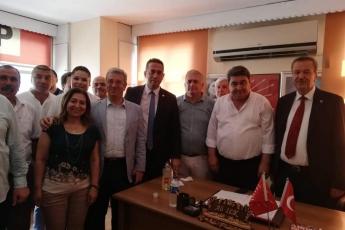 CHP Mersin İl Bşk.lığı,İlçe Bşk.ları ve Milletvekilleri İle Birlikte Tarsus İlçe Başkanlığında Basın Açıklamasına Katılımımız.-02