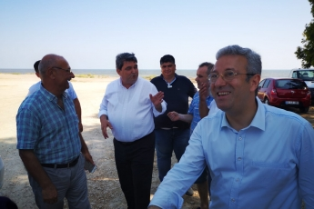 Mersin Kazanlı Sahiline Sahip Çıkma Eylemine Katılımımız.-01