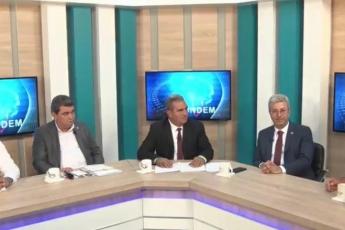 Kanal33 TV Canlı Yayınında İl Başkanımız Adil Aktay, Milletvekillerimiz Ali Mahir Başarır ve Cengiz Gökçel İle Birlikte Gündemi Değerlendirmemiz.